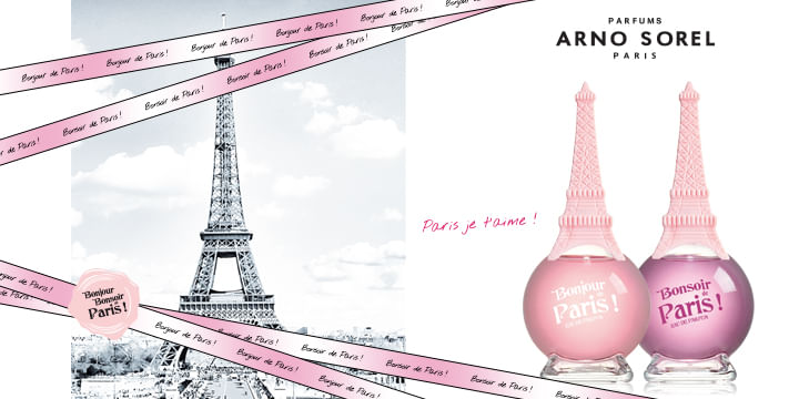 Parfums Arno Sorel Paris