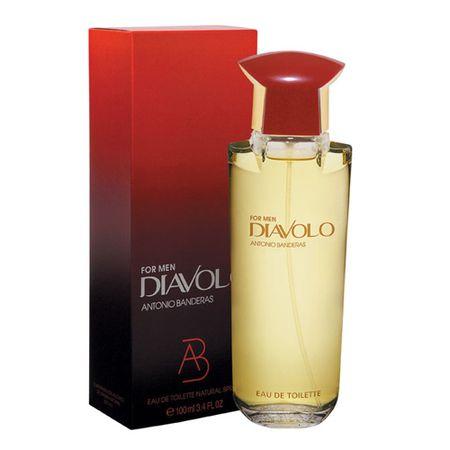 Diavolo For Men Antonio Banderas - Perfume Masculino - Eau de Toilette - 100ml
