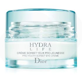 Hydra-Life-Creme-Sorbet-Yeux-Pro-Jeunesse-Dior---Creme-Antiolheiras-E-Antibolsas-Para-O-Contorno-Dos-Olhos