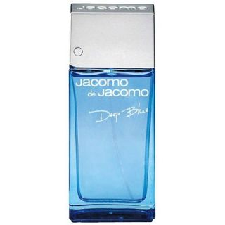 Jacomo Deep Blue Eau de Toilette Jacomo - Perfume Masculino 100ml - COD. 019893