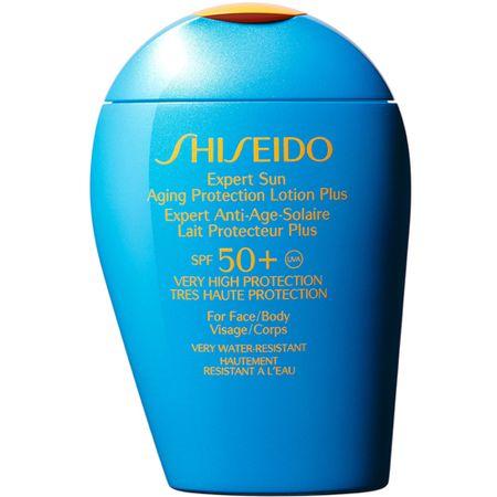 Protetor Solar Shiseido Expert Sun Aging Protection Lotion Plus Spf 50 - 100ml