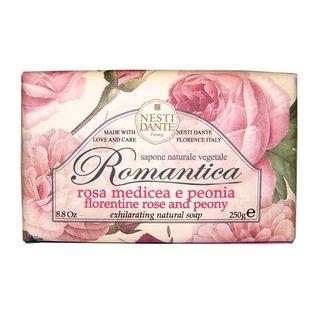 Romântica Rosas Florentinas com Essências de Peônia Nesti Dante - Sabonete Perfumado em Barra 250g - COD. 009716