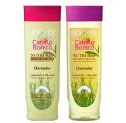Nutri-Hair Clareador Nick & Vick - Kit Shampoo 300ml + Condicionador 300ml