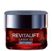 Revitalift Laser X3 Noturno L'oréal Paris - Rejuvenescedor Facial