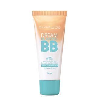 BB Cream Dream BB Oil Control Maybelline 30ml - Base Facial Médio