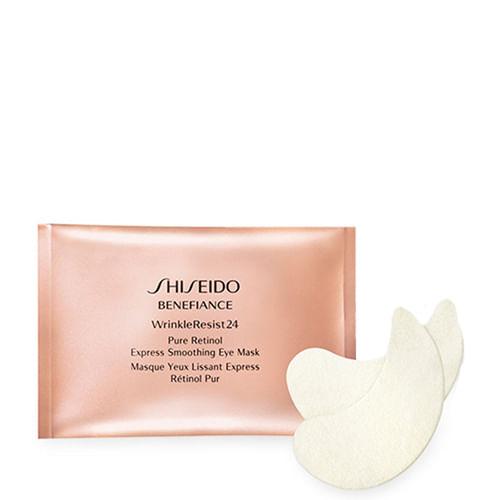 Máscara para o Contorno dos Olhos Shiseido Benefiance WrinkleResist24 - 12 Pares