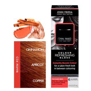 Colour Refreshing Gloss 177ml John Frieda - Tratamento para Cabelos Coloridos Cool Red 12412