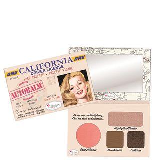 Autobalm California The Balm - Estojo de Maquiagem Estojo - COD. 028060
