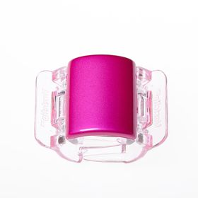 peralised-plain-linziclip-prendedor-para-os-cabelos-hot-pink