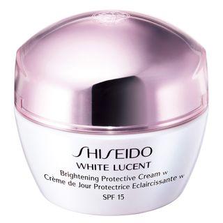 White Lucent Brightening Protective Cream W Spf 15 Shiseido - Creme Protetor Iluminador 50ml - COD. 030039