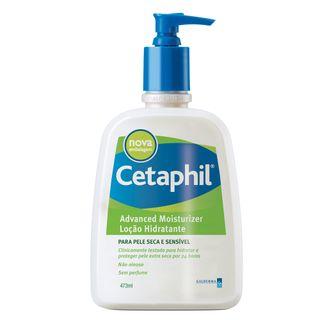 Cetaphil Advanced Loção Hidratante Pele Seca ou Sensível - Hidratante Corporal 473ml - COD. 030879