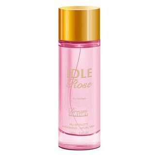 Perfume Idle Rose Dream Collection Eau de Toilette Feminino 100 Ml