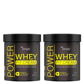 power-whey-fit-cream-yenzah-kit-mascara-reconstrutora-para-os-cabelos-1kg