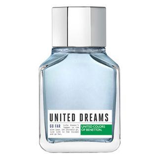 United Dreams Go Far Eau de Toilette Benetton - Perfume Masculino 100ml - COD. 031246