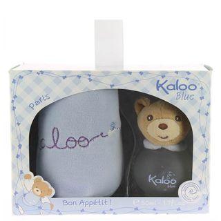 Blue Kaloo Eau de Toilette Kaloo - Kit de Perfume Infantil 50ml + Babador Kit - COD. 025786