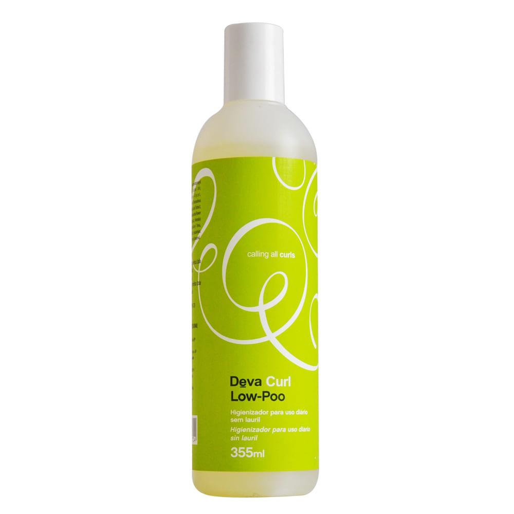 Deva Curl Shampoo Low-Poo - Shampoo Higienizador Com Pouca Espuma -