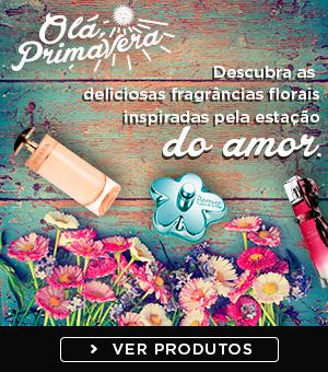 Perfumes para a Primavera