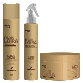 mais-loira-about-you-kit-shampoo-300ml-protetor-termico-300ml-mascara-250g