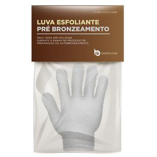 Luva Esfoliante Pré Bronzeamento Best Bronze - Luva de Banho 1 Unidade 16477