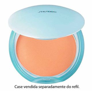 Matifying Compact Oil - Free Refil Shiseido - Pó Compacto 40 - Natural Beige - COD. 009082