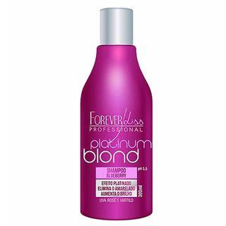 Forever Liss Platinum Blond - Shampoo Matizador - 300ml 20170206A 11383