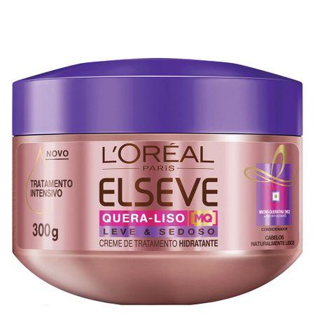 L'Oréal Paris Elseve Quera-Liso Leve e Sedoso - Creme de Tratamento - 300g