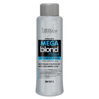 Forever Liss Mega Blond Black - Máscara Matizadora - 500ml 20160210A 12019