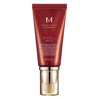 M Perfect Cover BB Cream 50ml Missha - Base Facial 21 - Light Beige 20160713 18200