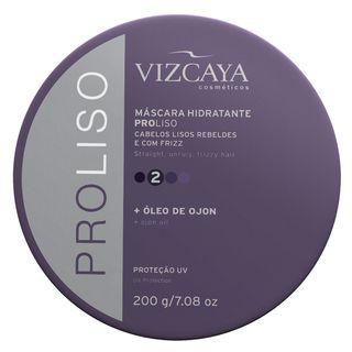 Pro Liso Vizcaya - Máscara Hidratante 200g - COD. 033659