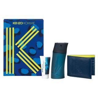 kenzo homme eau de toilette kenzo kit perfume masculino 100ml balm pos barba 50ml carteira moderna kit
