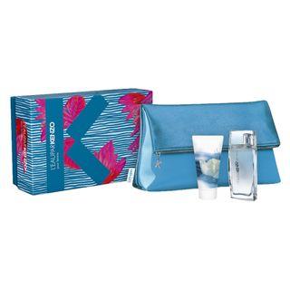 l eau par kenzo pour femme eau de toilette kenzo kit de perfume feminino 50ml locao corporal 50ml necessaire kit