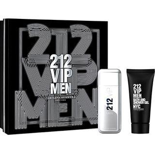 212 men eau de toilette carolina herrera kit de perfume masculino 80ml locao corporal 100ml kit