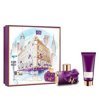 ch sublime eau de parfum carolina herrera kit de perfume feminino 80ml locao corporal 100ml kit