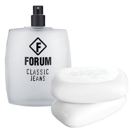 Forum Jeans Forum - Masculino - Eau de Toilette - Perfume + Sabonete Corporal -...
