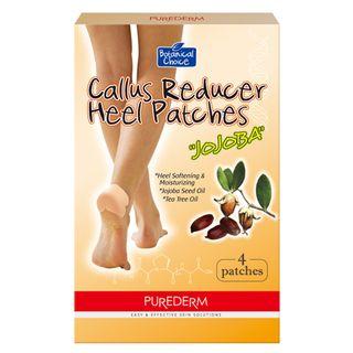 Adesivo Redutor de Calos e Bolhas Purederm Botanical Choice Callus Reducer Heel 4 Unidades 20170302A 19681