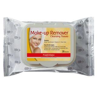 lenco-demaquilante-purederm-makeup-remover-cleansing-tissues-30-unidades