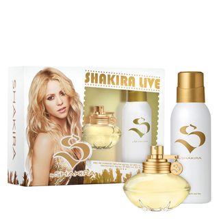 Perfume Shakira Live Shakira Eau de Toilette Feminino 80 Ml