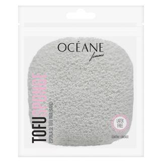 Tofu Sponge Océane - Esponja para Banho - 1 Unidade