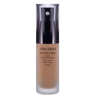 Synchro Skin Lasting Liquid Foundation SPF 20 Shiseido - Base Líquida R4 - Rose 4