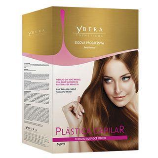 Escova Progressiva Plástica Capilar Ybera - Tratamento 160ml - COD. 035926