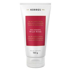 wild-rose-korres-gel-de-limpeza-facial-esfoliante-iluminador-150g