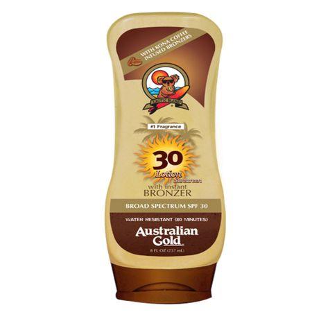 Kona Coffee Instant Bronzers SPF 30 Australian Gold - Protetor Solar - 237ml