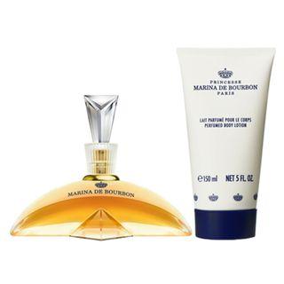 Classique Marina de Bourbon - Feminino - Eau de Parfum - Perfume + Loção Corporal - Kit 20160214A 14454