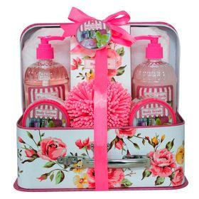 rosas-e-baunilha-beauty-ninta-kit-sabonete-liquido-espuma-de-banho-locao-hidratante-esfoliante-corporal