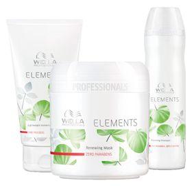elements-renewing-wella-shampoo-condicionador-mascara-reconstrutora-150ml-kit