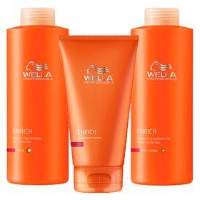 enrich-wella-shampoo-condicionador-leave-in-1000ml-kit