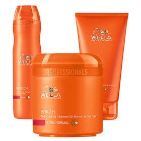 enrich-wella-shampoo-condicionador-mascara-kit
