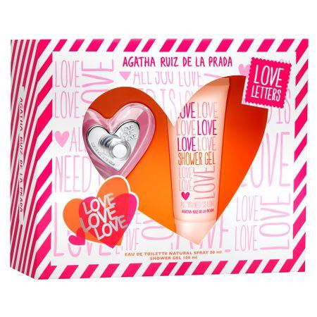 Love Love Love Agatha Ruiz de La Prada Feminino Eau de Toilette - Perfume + Gel...