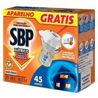 Repelente SBP - Líquido 45 Noites Aparelho e Refil 1 Unidade 20170628 25040