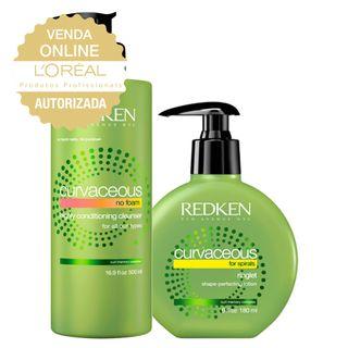 Redken Cachos Hidratados Kit Shampoo + Loção para Cachos Kit 20170601 24606